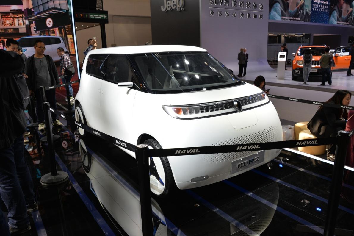 2018款 欧拉 R2 车展 外观