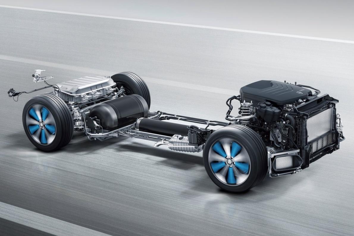 2017款 梅赛德斯奔驰 GLC F-CELL Concept 官图 动力底盘