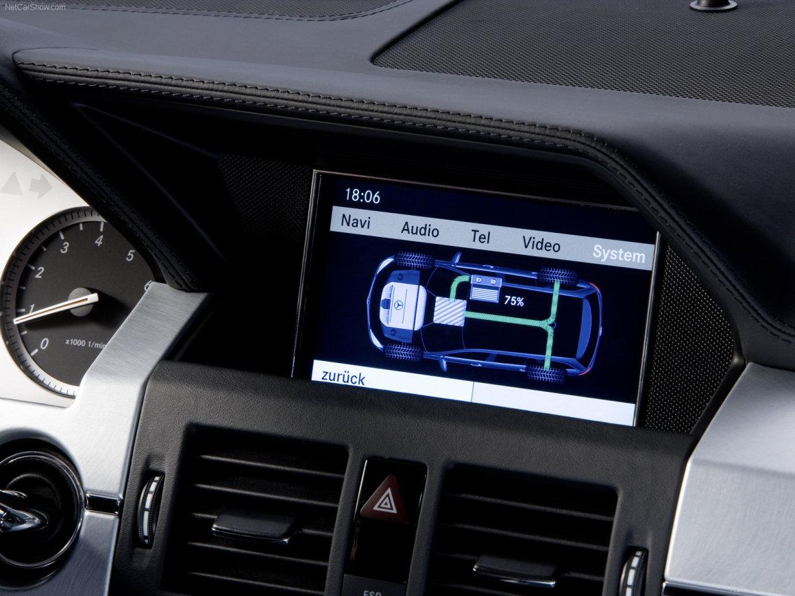 2008款 奔驰 GLK Bluetec Hybrid Concept 官图 内饰