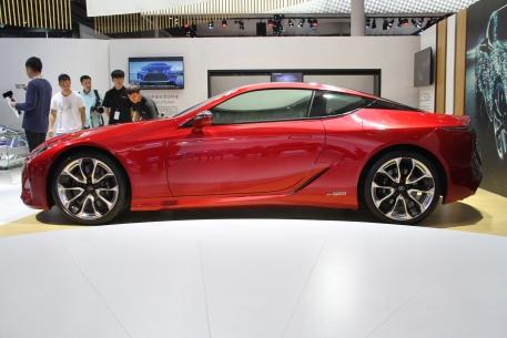 2018款 雷克萨斯 LC 500h 车展 外观
