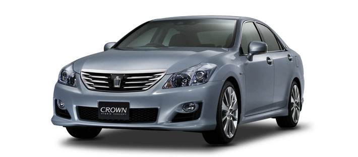 2007款 丰田 Crown Hybrid Concept 头图