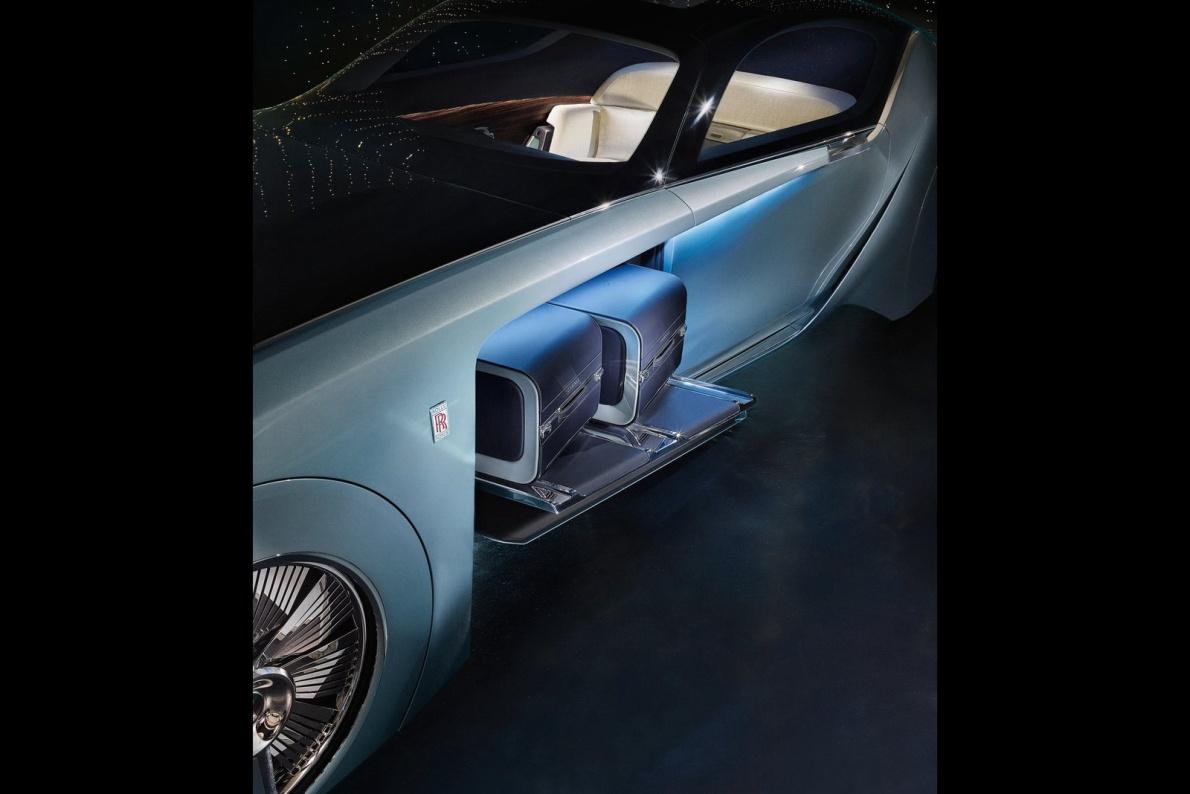 2016款 劳斯莱斯Vision Next 100 103EX Concept 官图 座椅空间