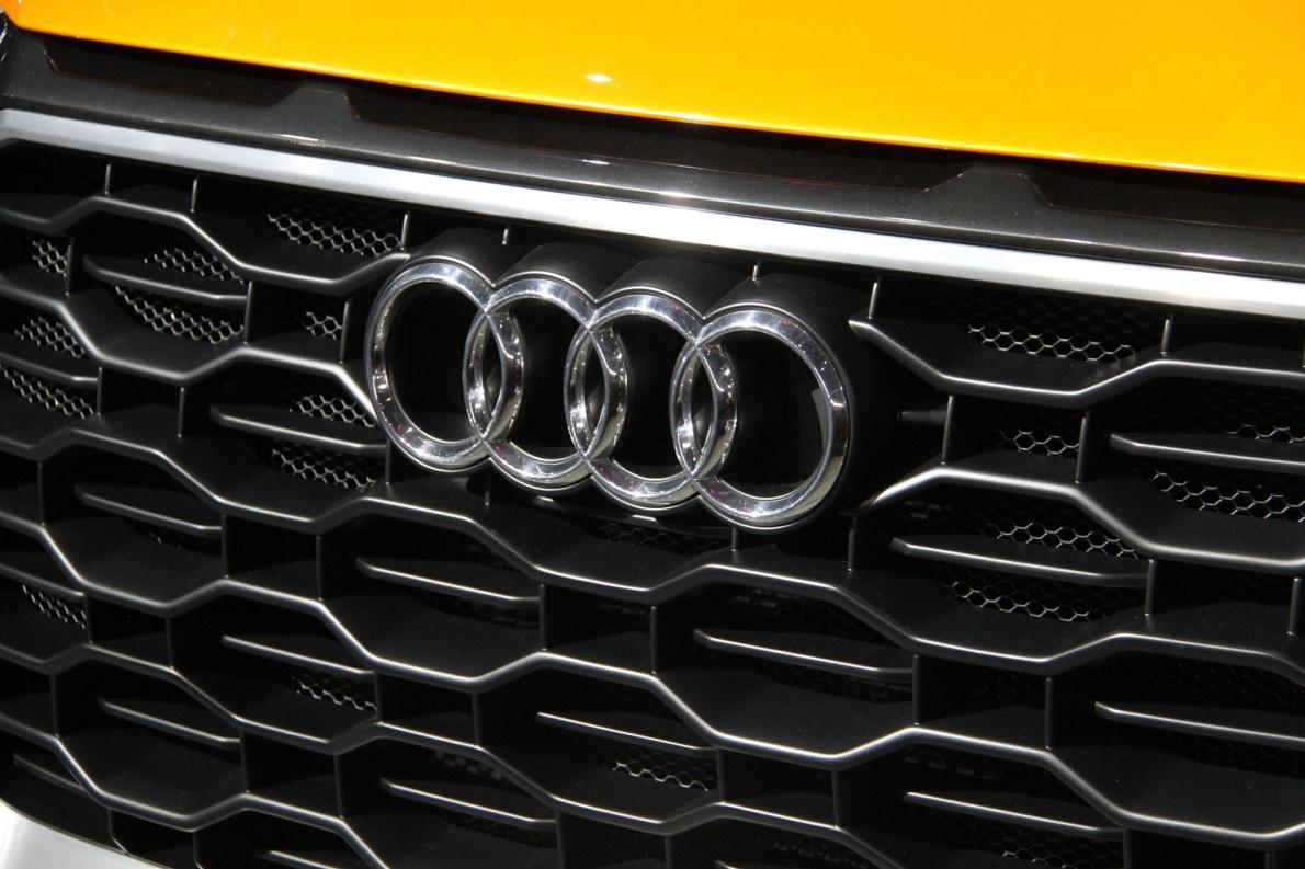 2018款 奥迪 Q8 车展 细节