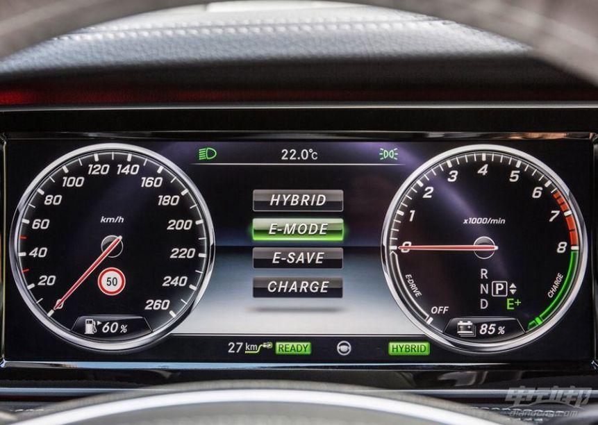 2016款 奔驰S 500 PLUG-IN HYBRID 官图 内饰