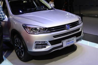 2018款 汉腾 X7 车展 细节