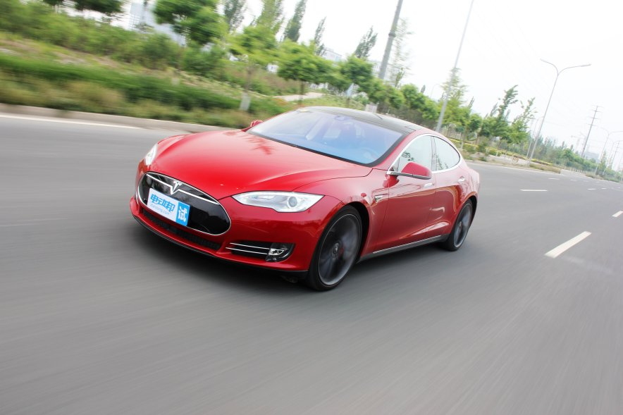 2015款 Model S P85D 实拍 测试