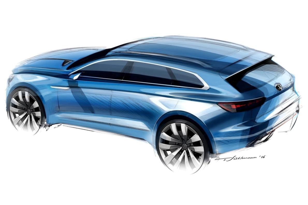 2016款 大众 T-Prime GTE Concept 官图 外观