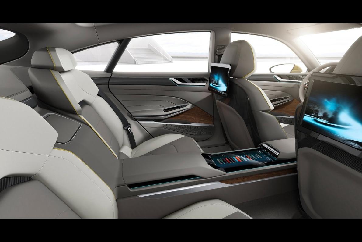 2015款 大众 Sport Coupe GTE Concept 官图 座椅空间