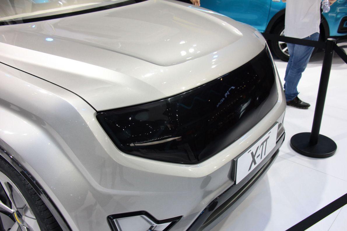 2017款云度X-π概念SUV 上海车展
