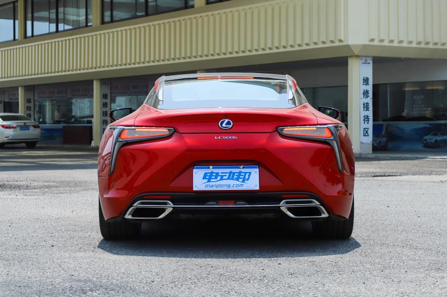 2018款 雷克萨斯 LC 500h 运动版 炫红色 实拍 外观