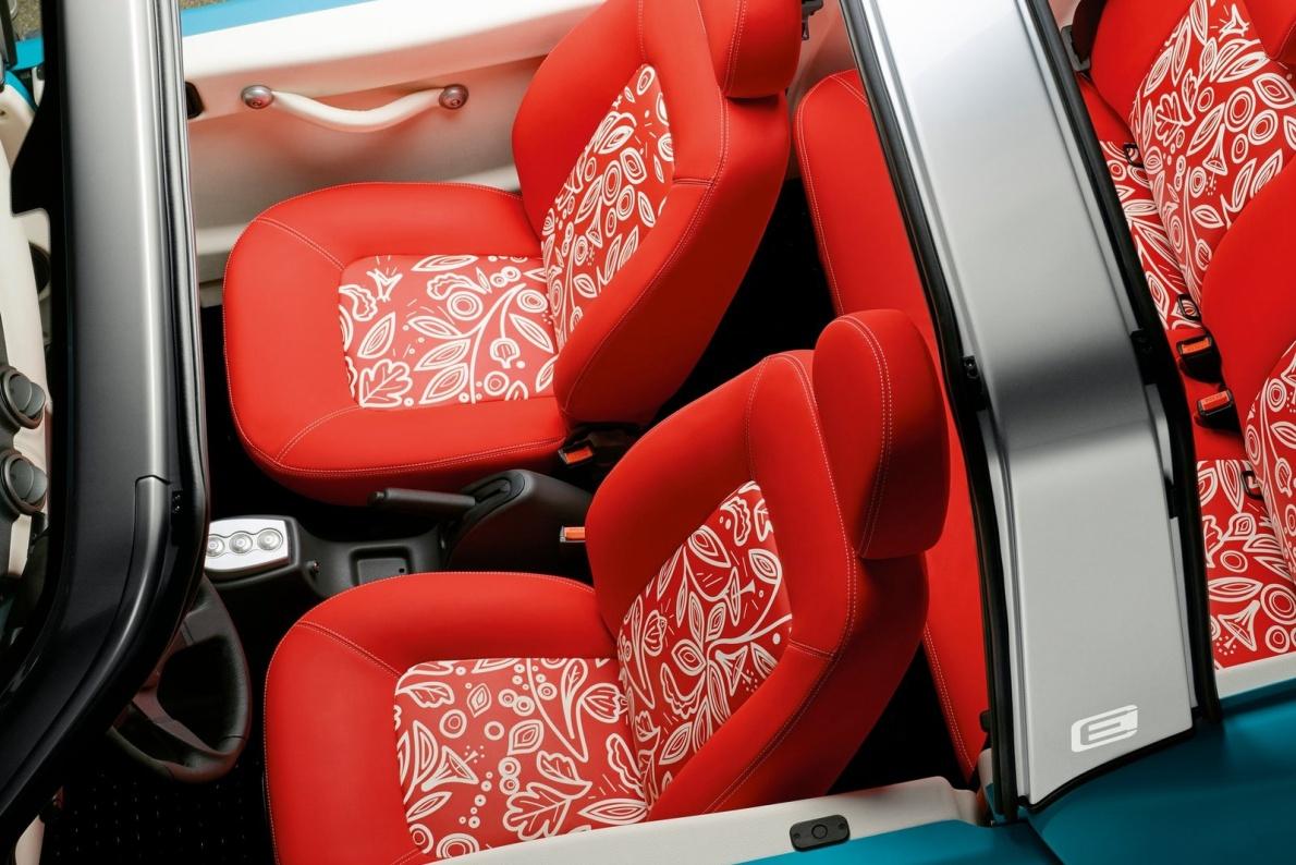 2016款 雪铁龙 E-MEHARI Concept 官图 座椅空间