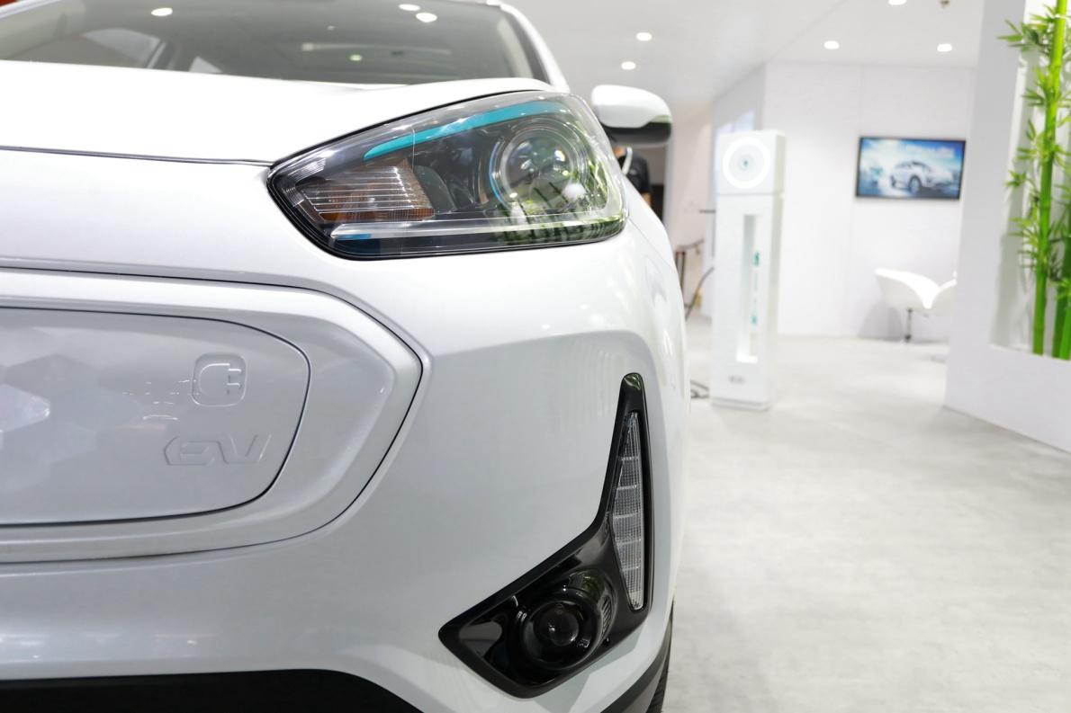 2019 起亚 KX3 标准型 白色 车展 细节