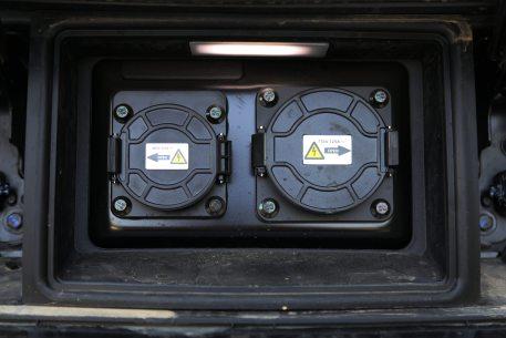 2017款 比亚迪 秦 EV300 尊享型 水晶白 实拍 充电