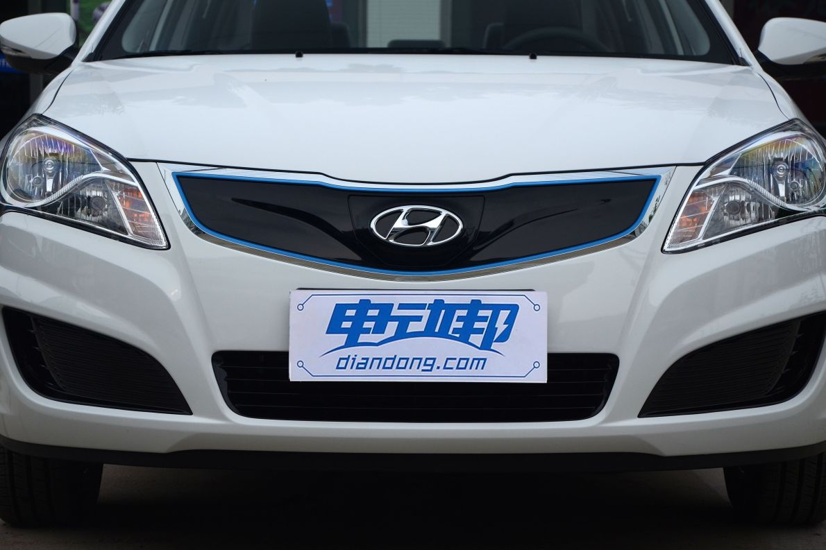 2017款 北京现代 伊兰特EV 实拍 细节