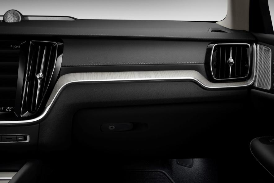 2019款 沃尔沃 V60 PHEV 官图 座椅空间