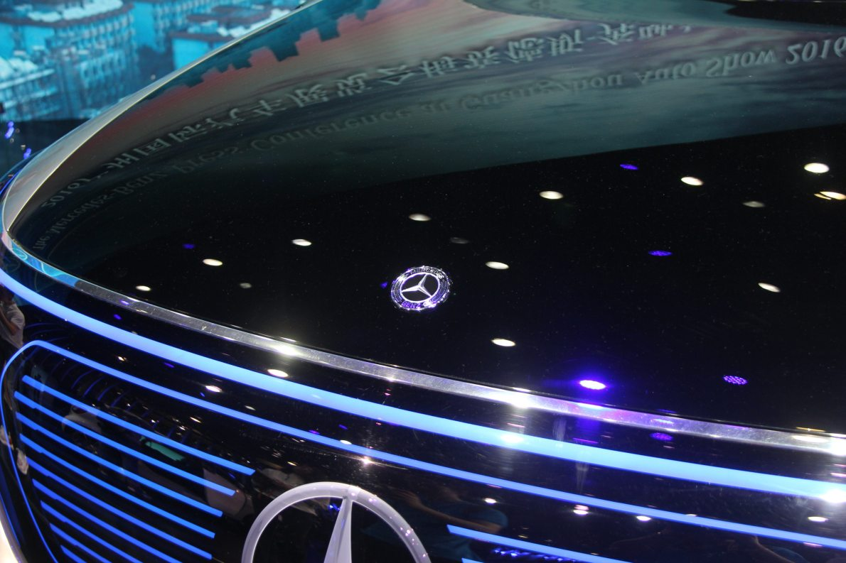 2016款 奔驰 Generation EQ Concept 车展 外观细节