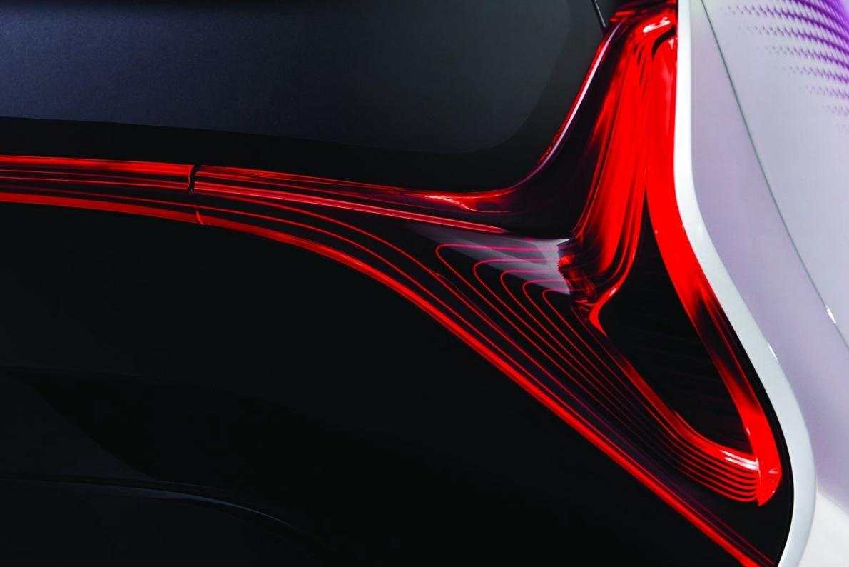 2017款 丰田 i-TRIL Concept 官图 外观细节