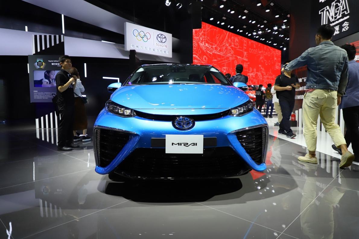 2016款 丰田 Mirai 基本型 车展 外观