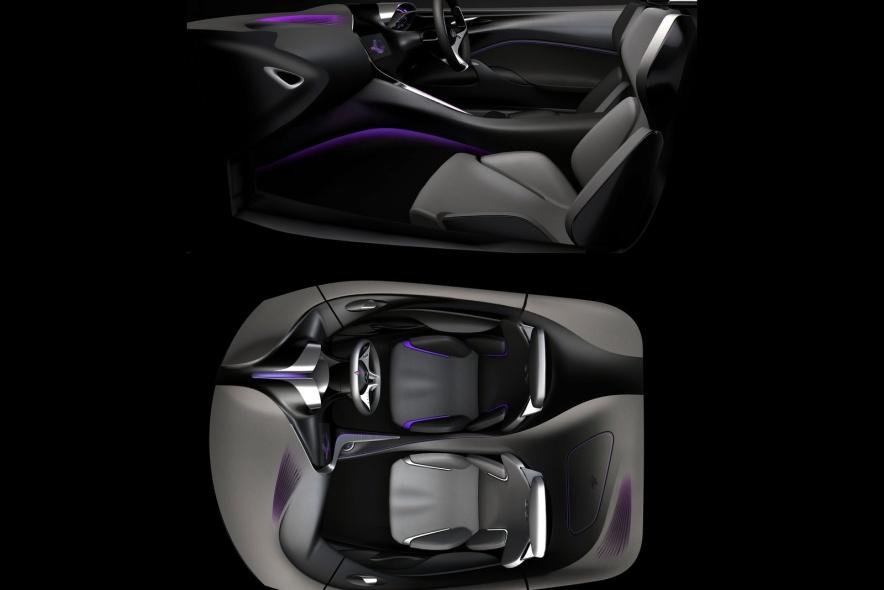 2012款 英菲尼迪 Emerg-E Concept 官图 座椅空间
