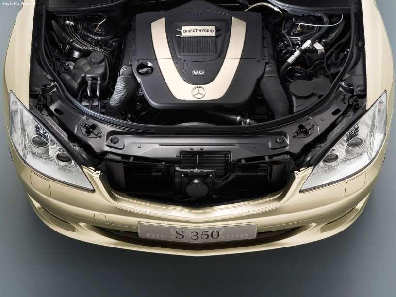 2005款 奔驰 S级 Direct Hybrid Concept 官图 动力底盘