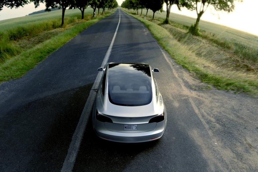 2016款 特斯拉 Model3 官图 外观