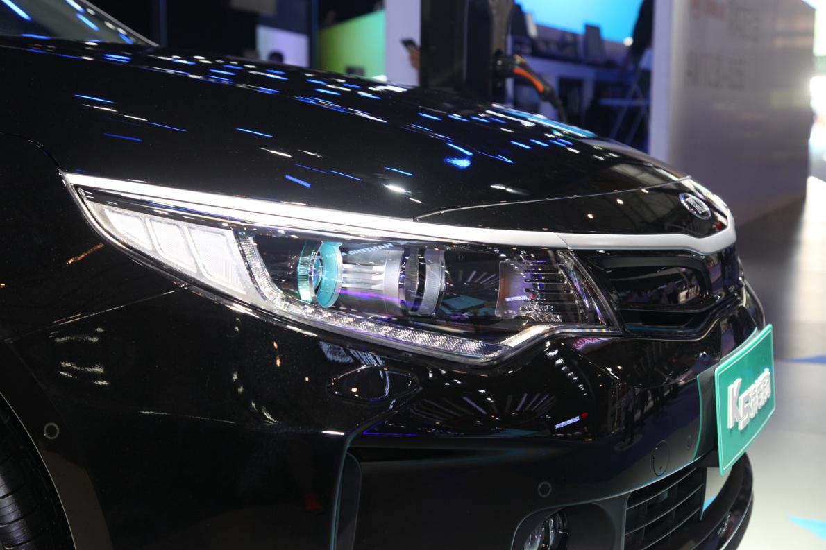 2018款 起亚 K5 PHEV 车展 细节