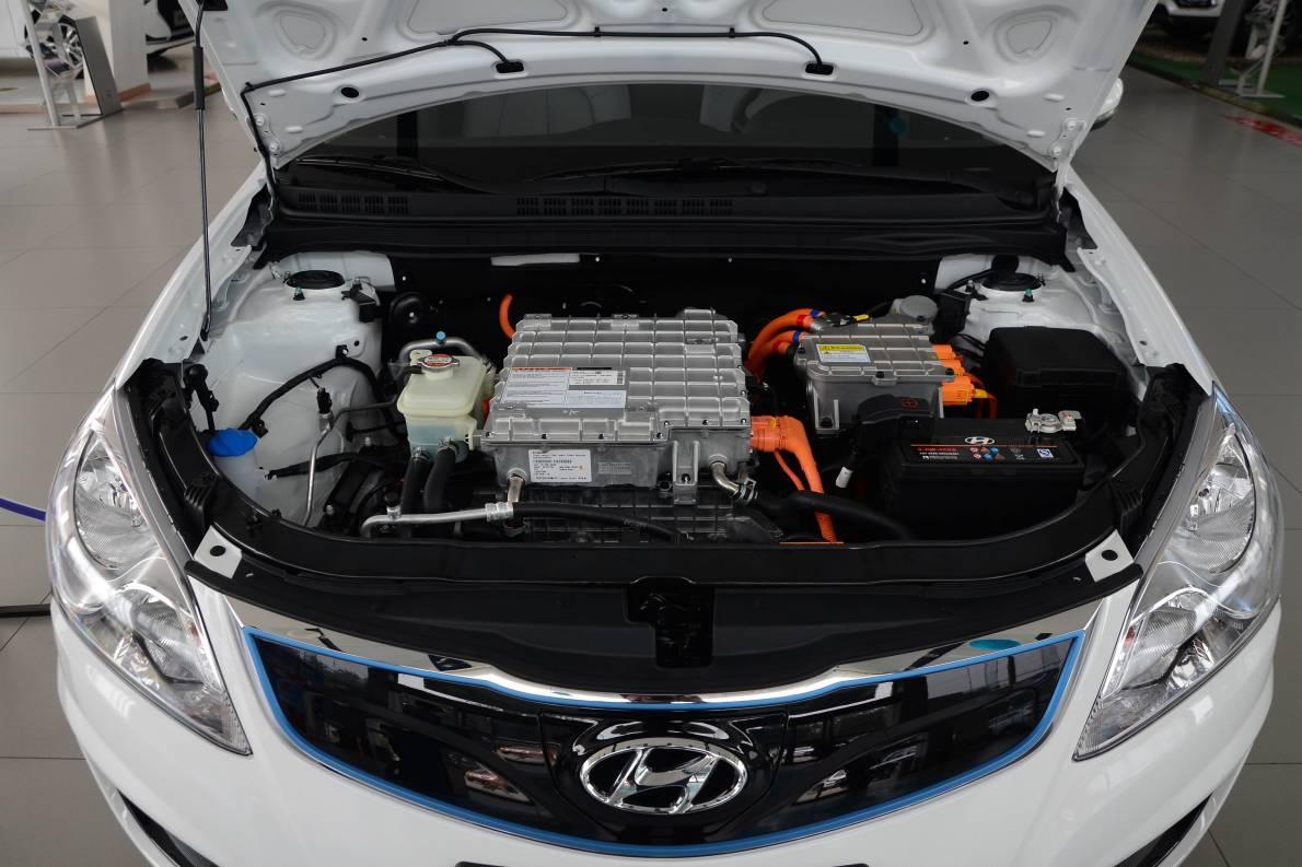 2017款 北京现代 伊兰特EV 实拍 动力底盘