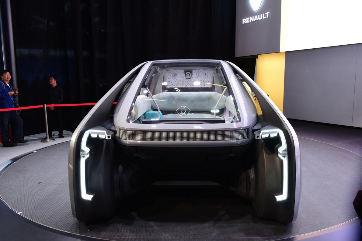 2018款 雷诺 EZ-GO 车展 细节