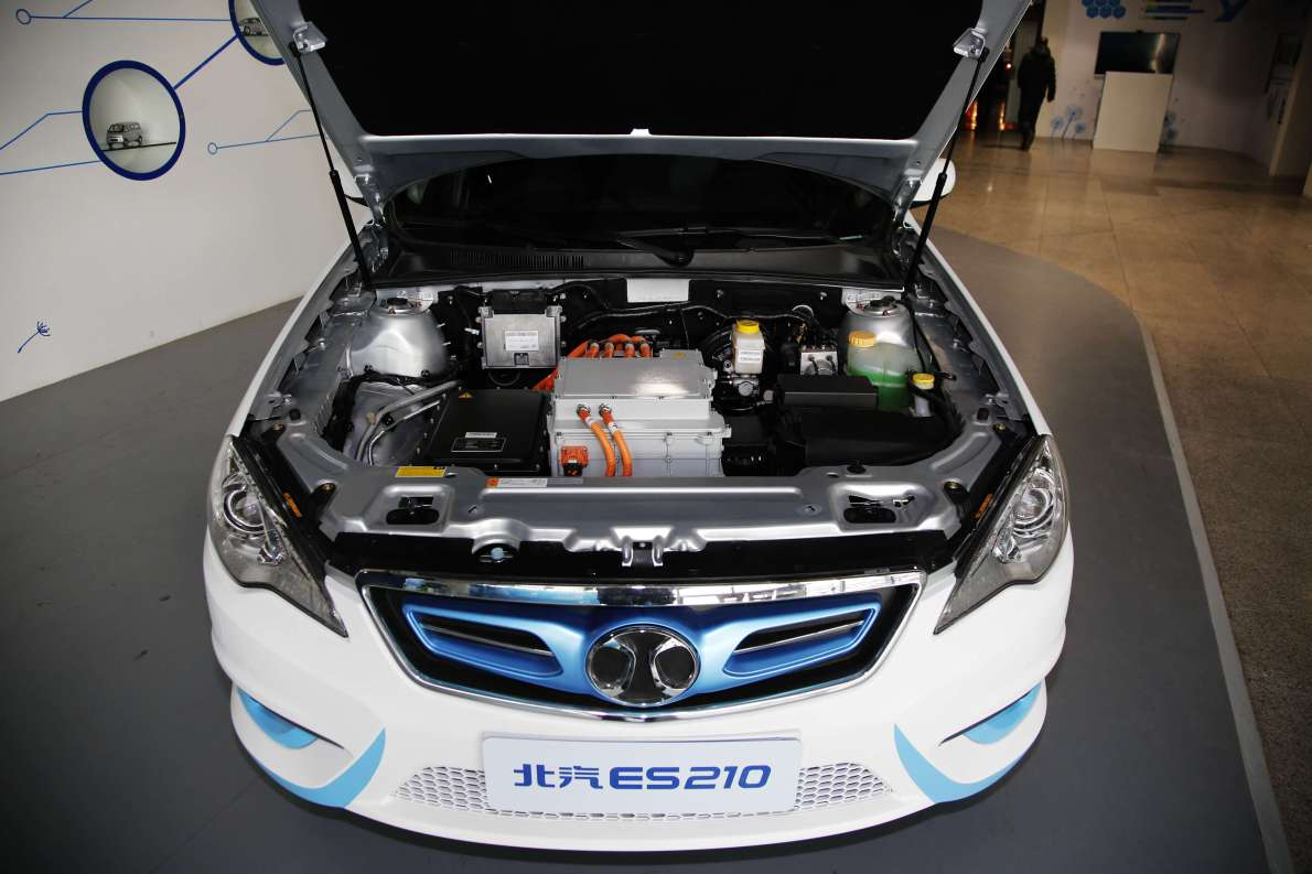 2015款 北汽新能源ES210 畅睿版