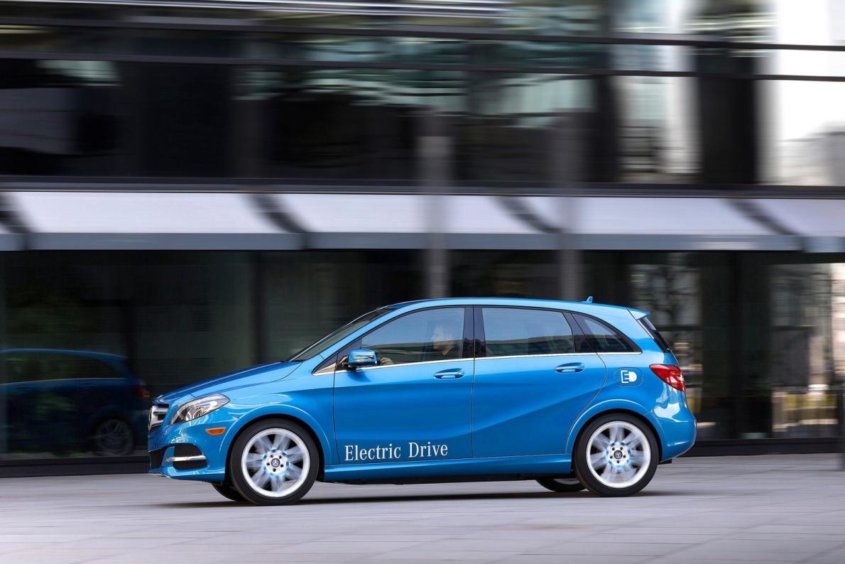 2015款 奔驰 B级 Electric Drive 官图 外观