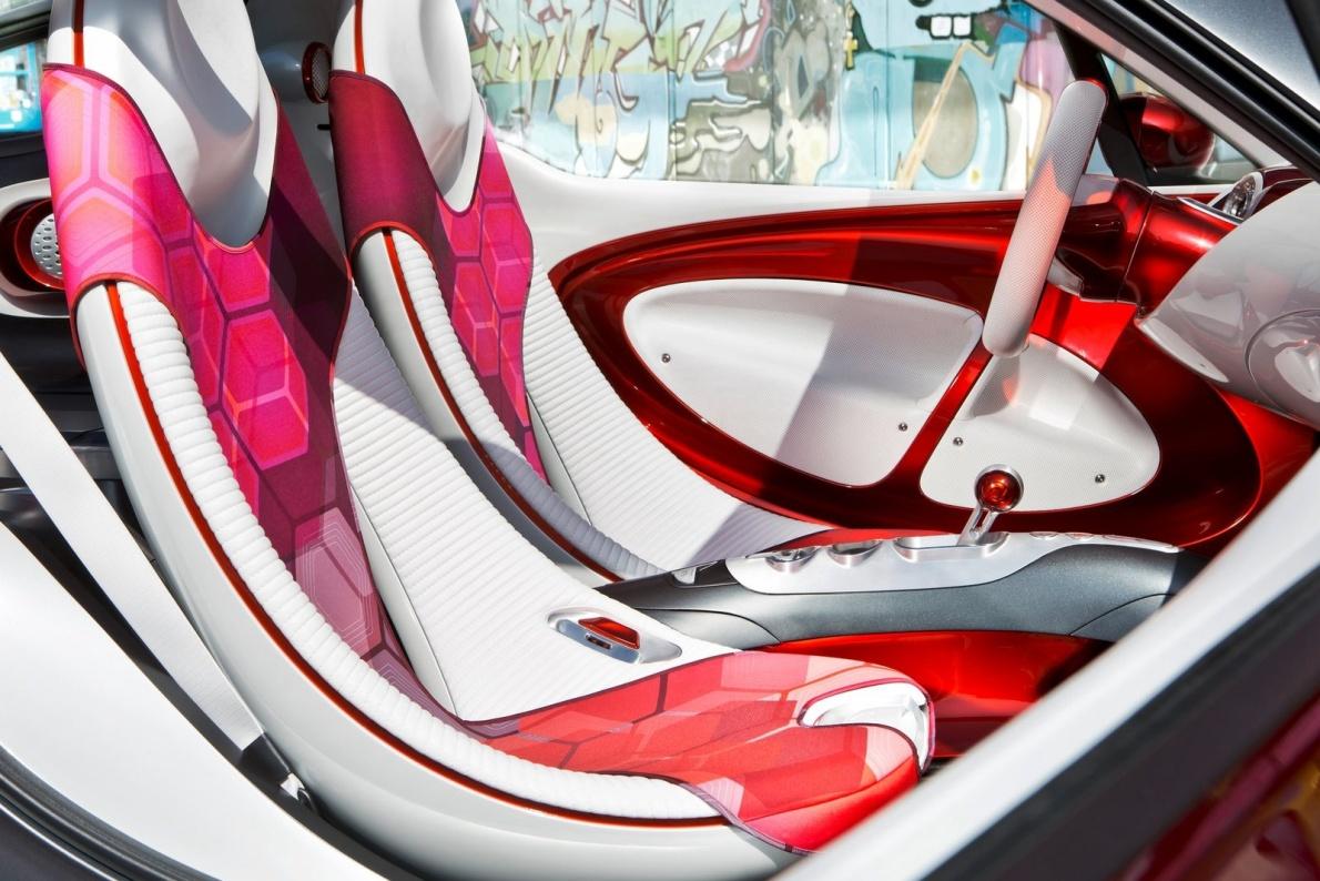 2012款 smart forstars 官图 座椅空间