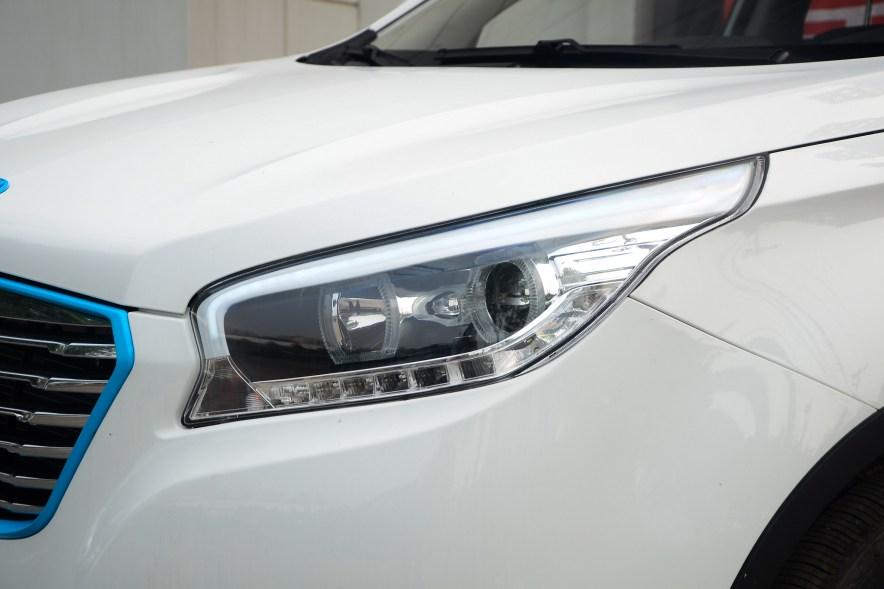 2016款 华泰XEV260 尊贵型 白色 实拍 外观细节