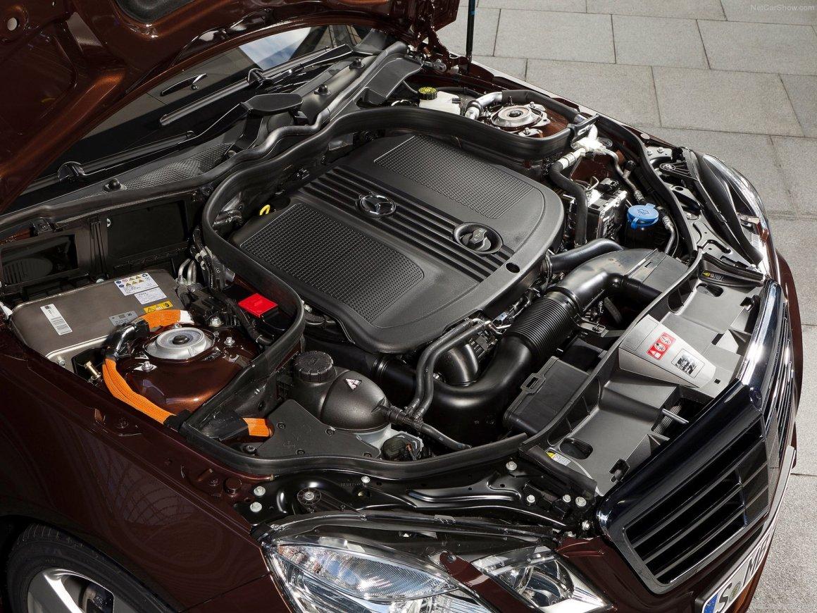 2013款 奔驰 E级(进口)E300 BlueTEC Hybrid 官图 动力底盘