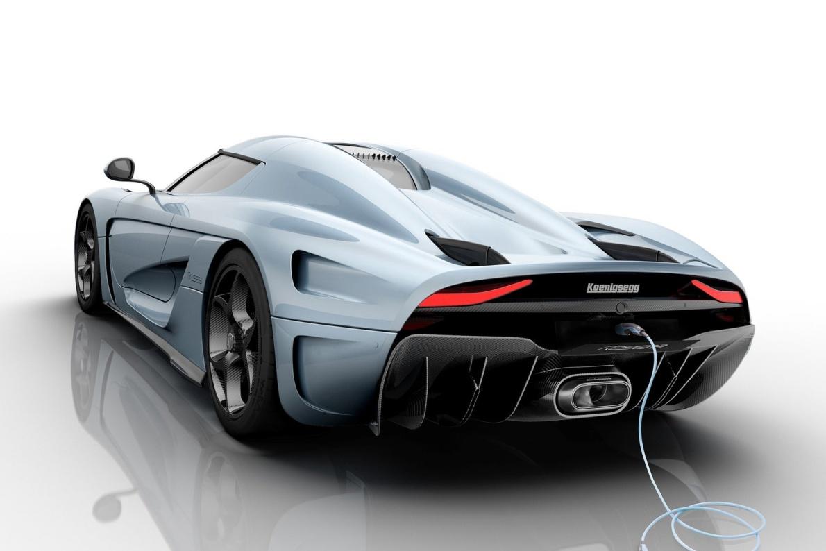 2016款 科尼赛克 Regera Hybrid 官图 充电