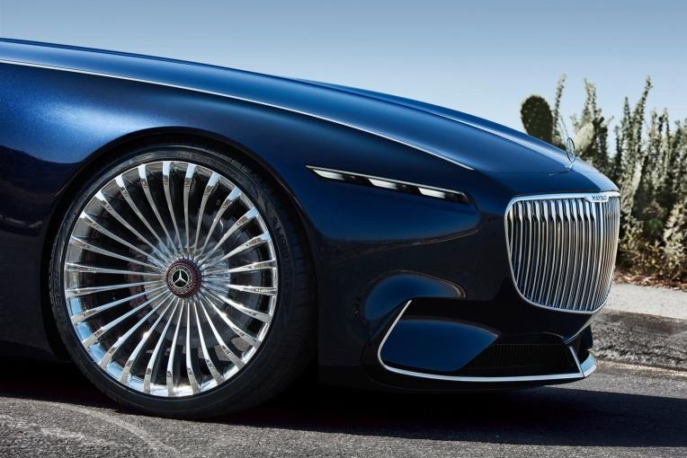 Vision Mercedes-Maybach 6 细节