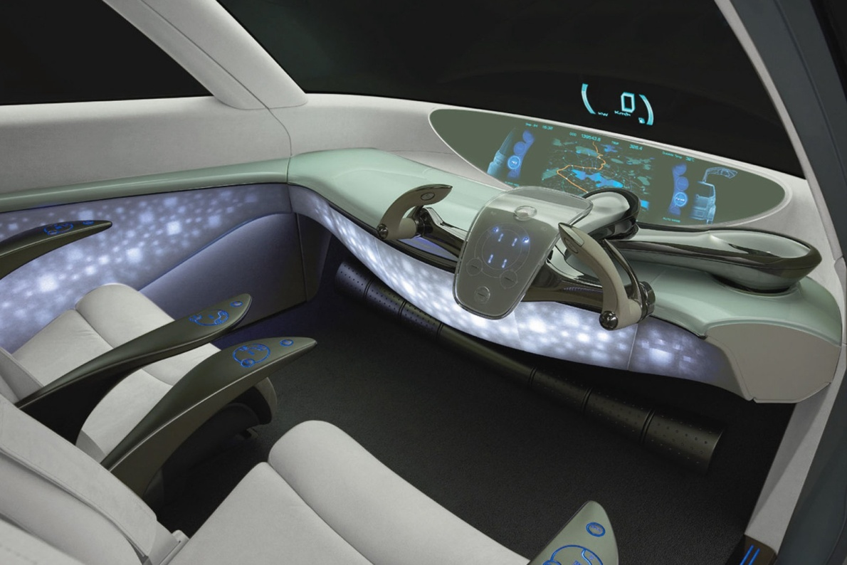 2006款 丰田 Fine-T Fuel Cell Hybrid Concept 官图 内饰