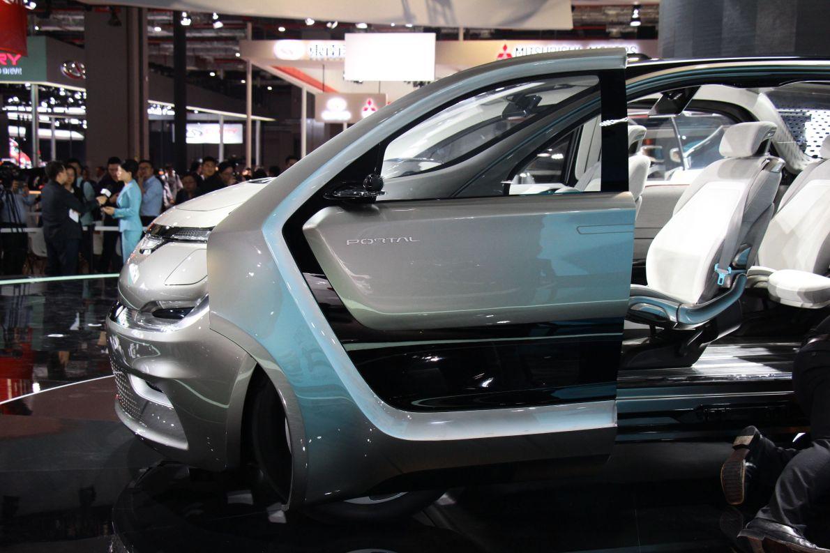 2017款克莱斯勒Portal概念车  车展