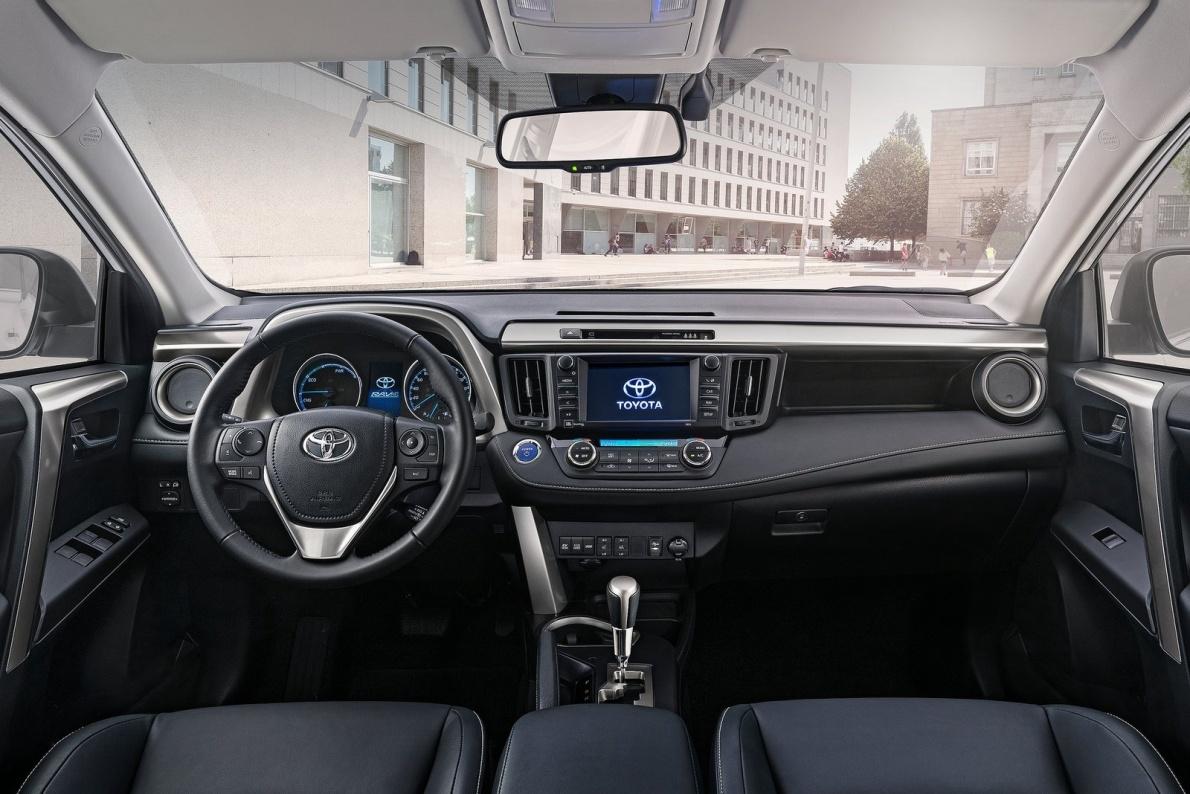 2015款 丰田RAV4 Hybrid EU-Version 官图 内饰