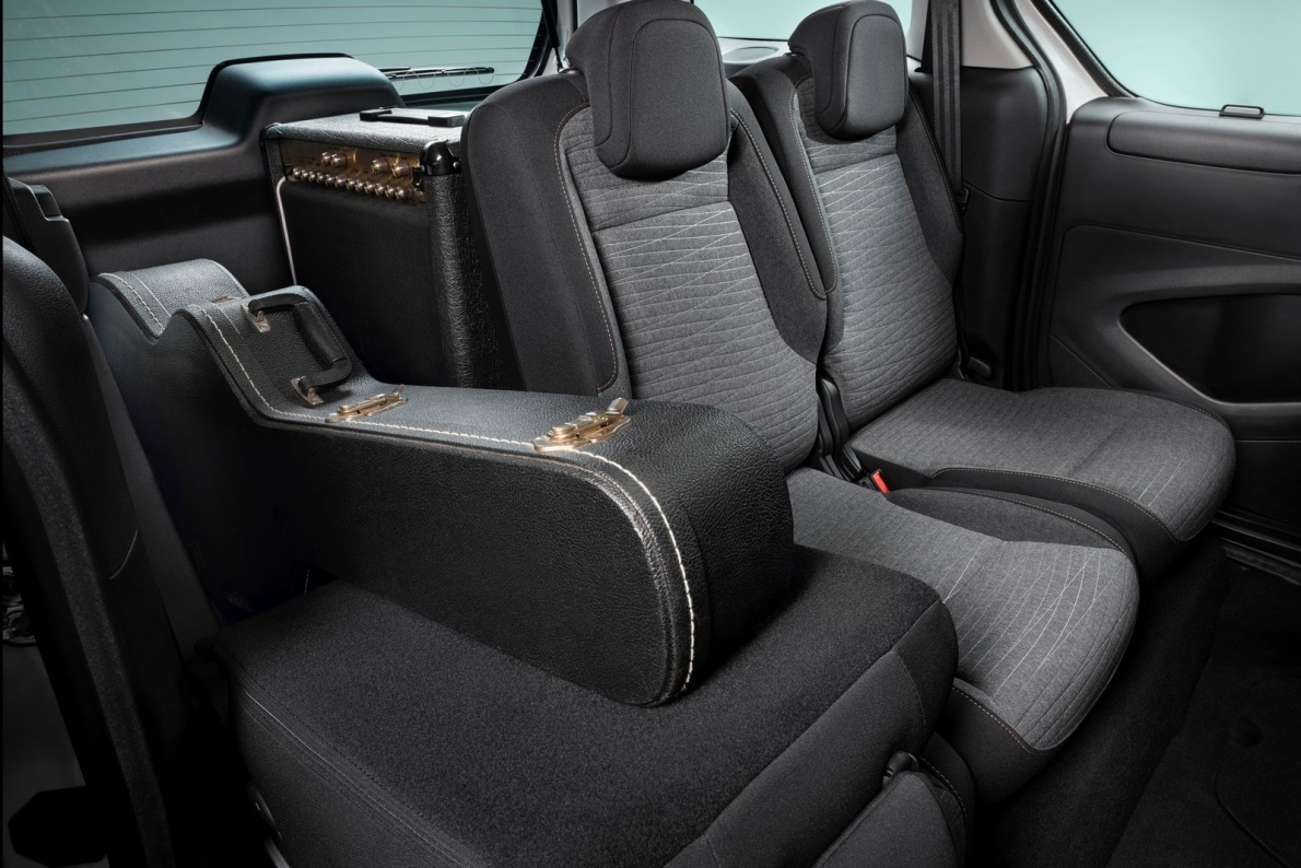 2017款 雪铁龙 E-Berlingo Multispace 官图 座椅空间