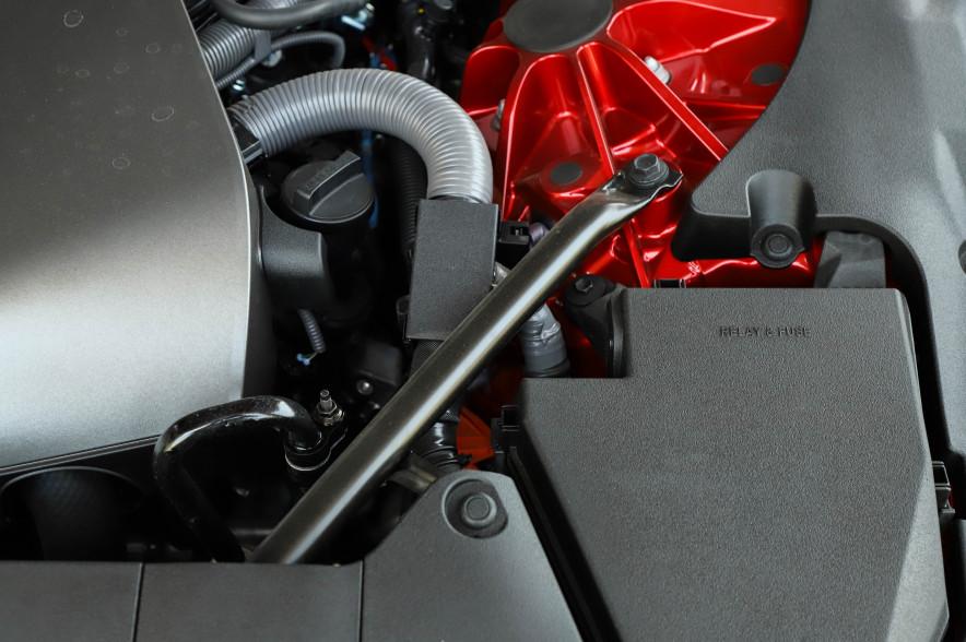 2018款 雷克萨斯 LC 500h 运动版 炫红色 实拍 动力底盘