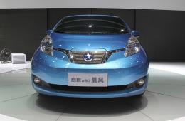 上海第八批新能源车型目录发布,启辰晨风e30入选