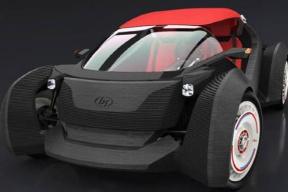 全球首台3D打印电动车问世,售价11万人民币
