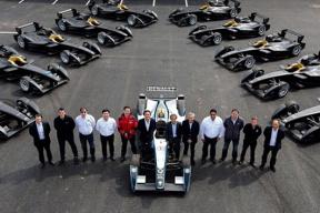 首届Formula E电动方程式锦标赛在北京开幕