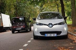 真实的梦想:电动邦巴黎抢先体验雷诺ZOE电动车