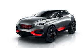 标致将在巴黎车展推出Quartz概念车