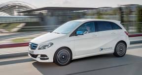 奔驰将在巴黎车展上推出改款B级纯电动车