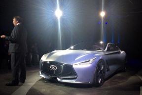 英菲尼迪四门概念轿跑车Q80 Inspiration全球首发
