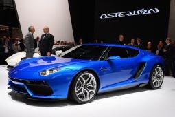 兰博基尼Asterion概念车亮相,首次采用混动系统