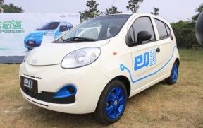 奇瑞eQ小型电动车将在11月5日发布,里程可达200千米