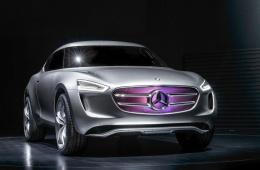 奔驰概念车G-Code屌炸天:车漆发电 变身移动太阳能